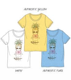 菠蘿印花T恤