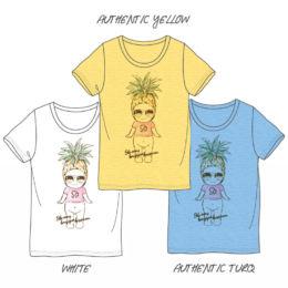 菠萝印花T恤